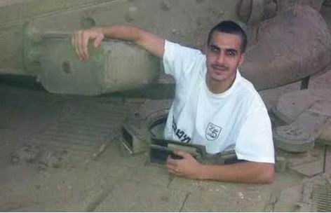 COrporal Niran Cohen, 20, from Tiberias