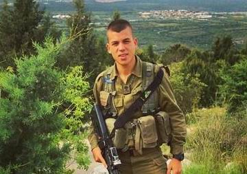 Sargeant Ben Oanounou, 19, from Ashdod
