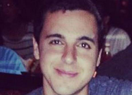 Sargeant Nissim Sean Carmeli, 21, from South Padre, Texas, living in Ra'anana