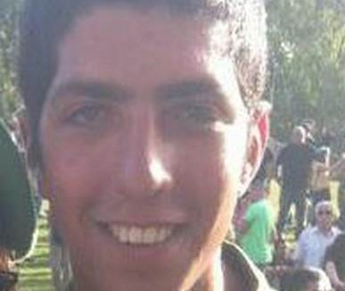 Staff Sargeant Avraham Grintzvaig, 21, from Petah Tikva