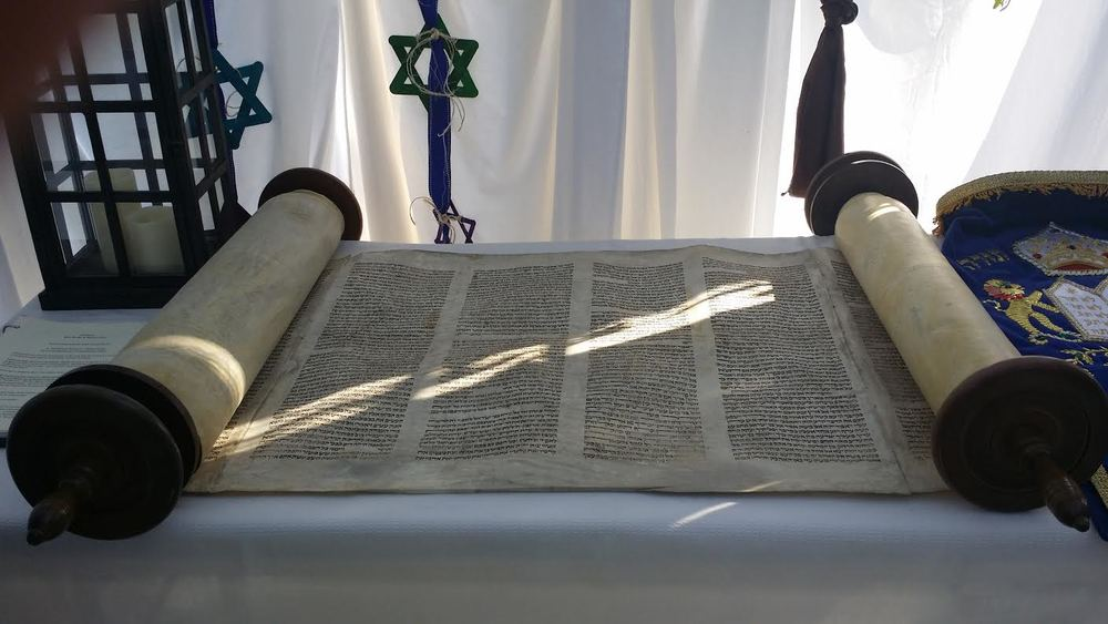 This 200-year old Torah Scroll survived the Nazi era in Europe