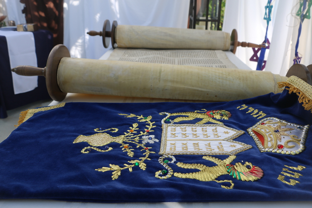 This 200-year Torah Scroll survived the Nazi era