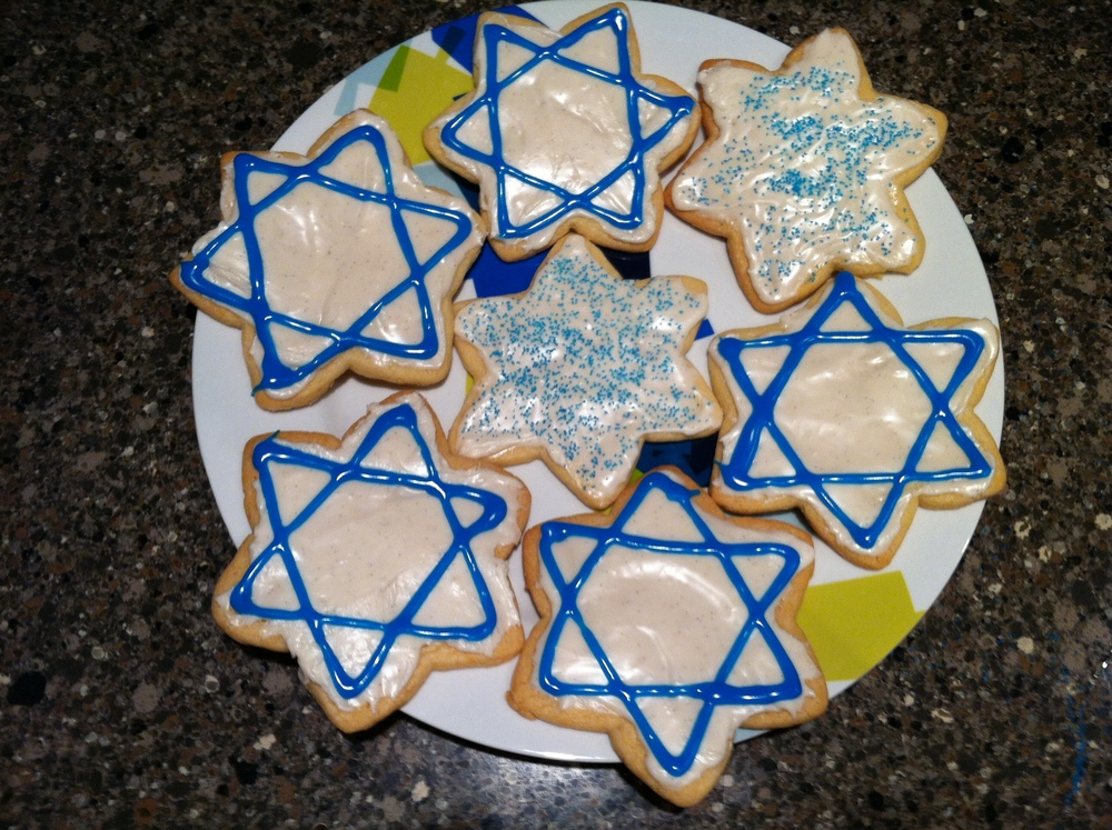 Star of David Cookies!