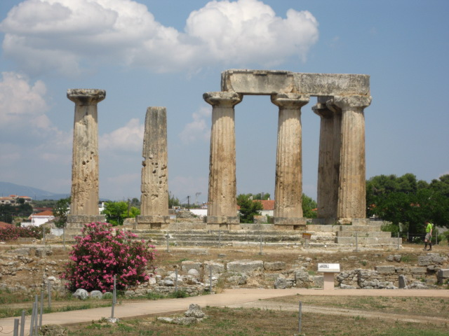 Temple of Apollos at Corinth