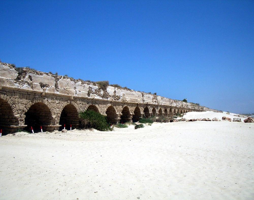 IMGP2989 Caesarea By the Sea, 12-mile aquaduct - Copy.JPG