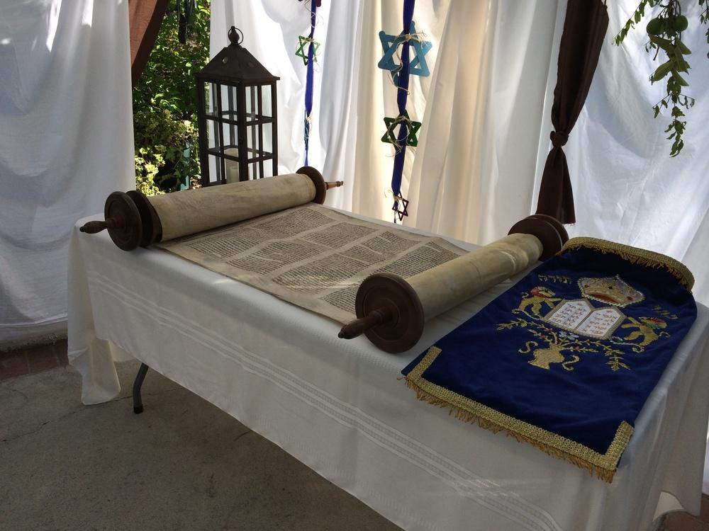 Torah Scroll Feast 2014.jpg