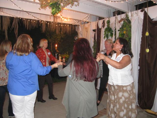 Learning a Davidic dance