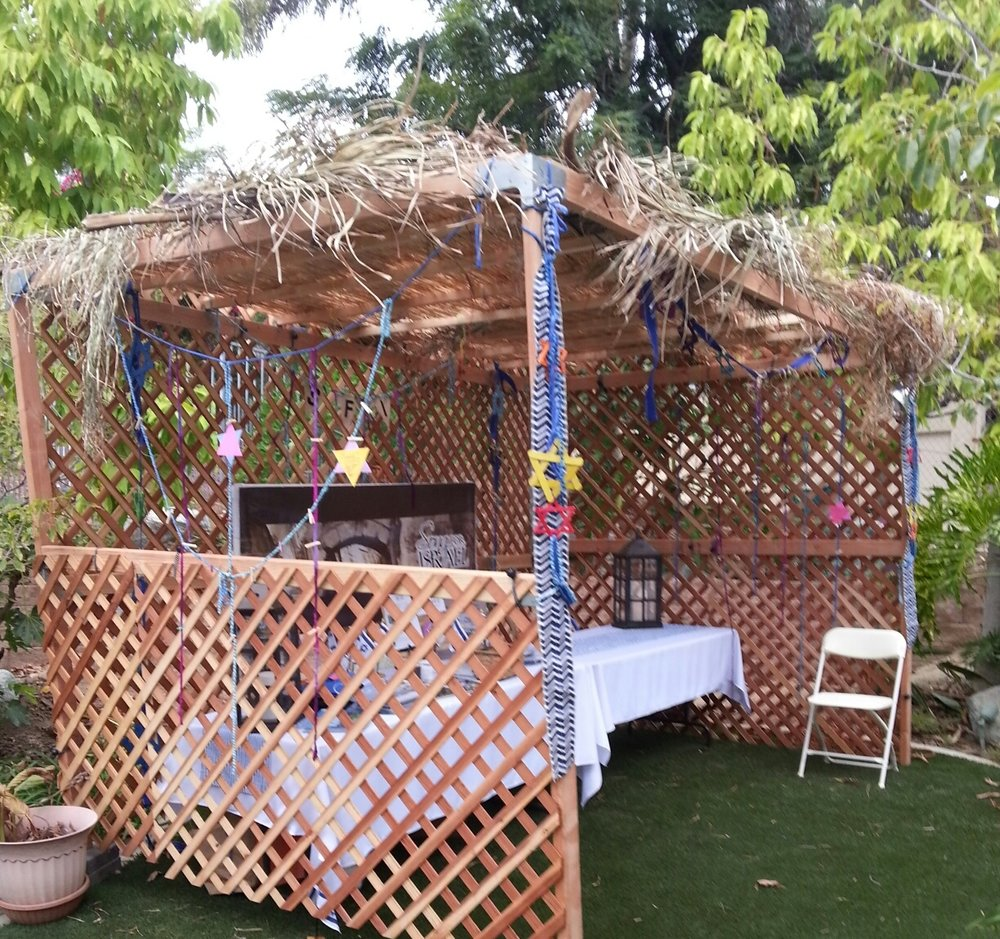 Our kosher sukkah
