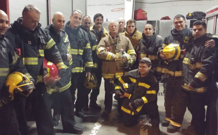 American Firefighters in Israel (Photo by The Times of Israel)