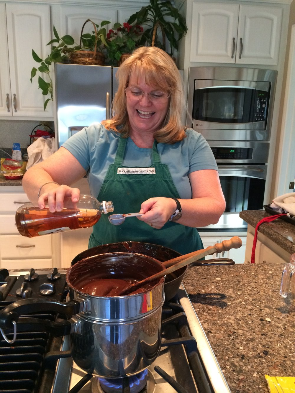 Annual EnglishToffee Making for our Year End Gift to Donors - 2016