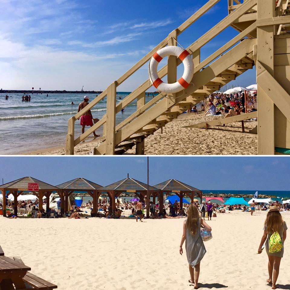 Beach at Tel Aviv