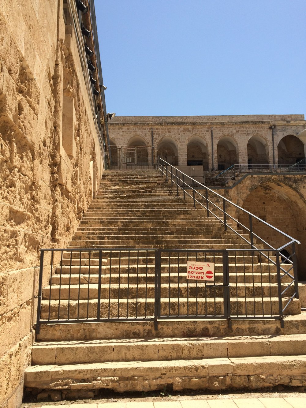 Crusader steps