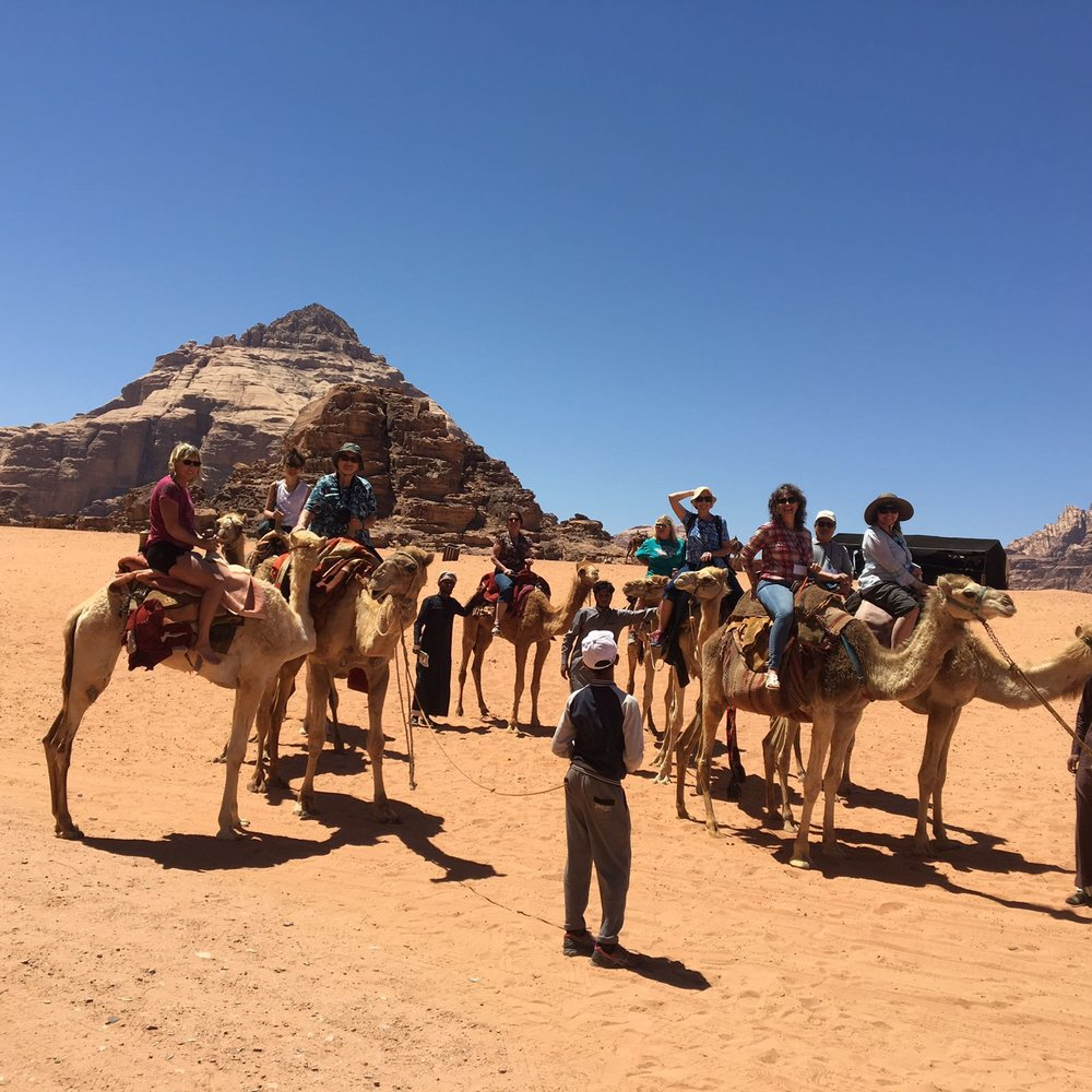 DSCN0239zl Group on camel.JPG