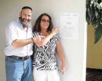 Shelter placed at the Eden Center in Sderot