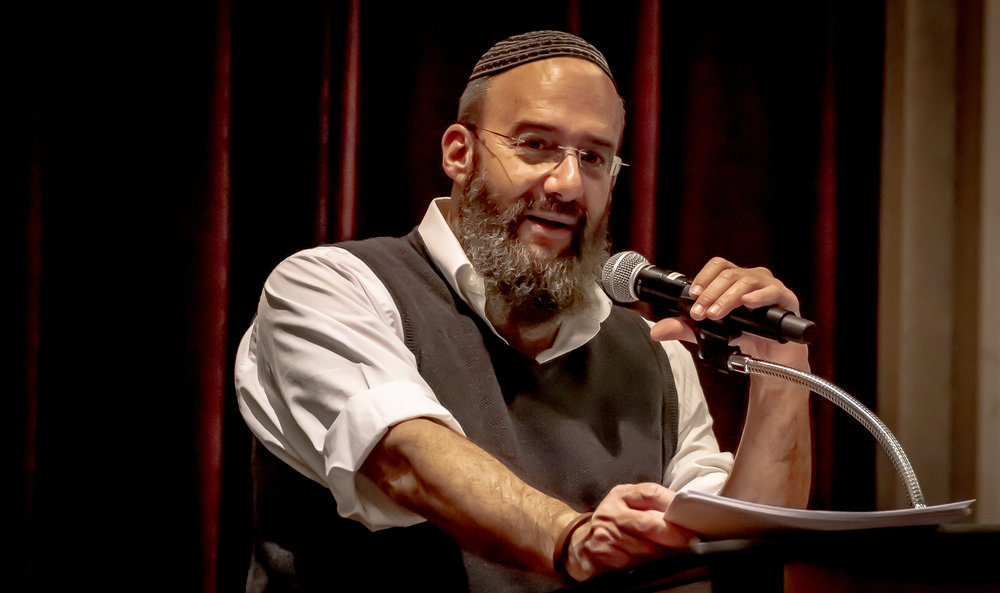 Rabbi Shmuel Bowman, Executive Director of Operation Lifeshield in Israel