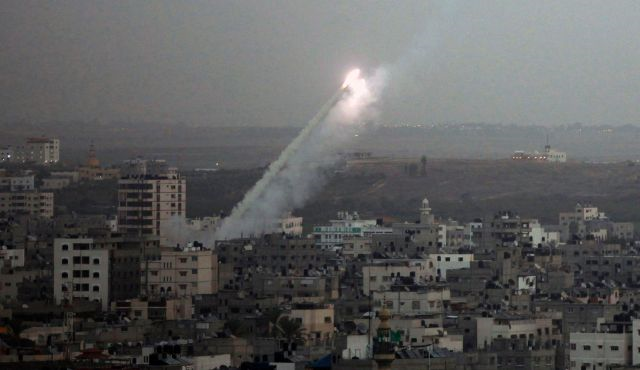 The Iron Dome only intercepts over populated areas