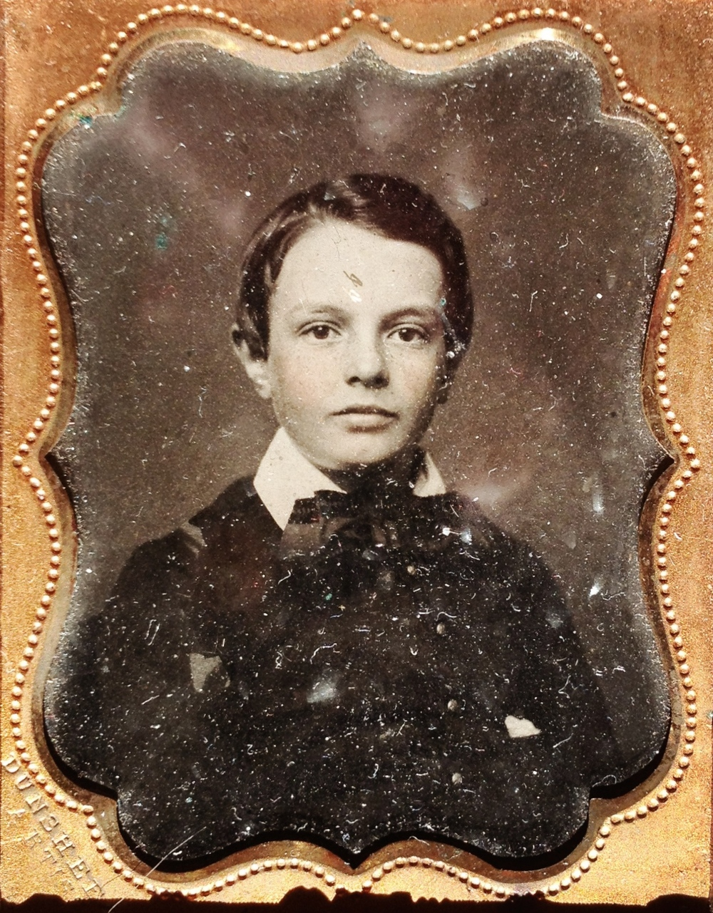 Again and again, Leland Thankful Smith was reminded of his birth Found ambrotype, September 2012  Copyright © Tennyson Woodbridge, 1963 to present. All appropriation rights reserved