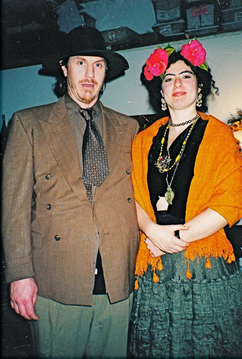 Tennyson with Freda, maybe 2009