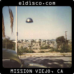 Reality-based phenomenon, factual and presumed. El Disco is an ongoing collaboration involving Joe Clower, Steve Thompson and Tennyson Woodbridge; 1987-present. Mission Viejo is another thing altogether