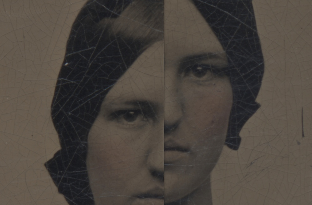 Gemma   Found tintype/digital assembly, 14 June 2014   Copyright © Tennyson Woodbridge, 1963 to present