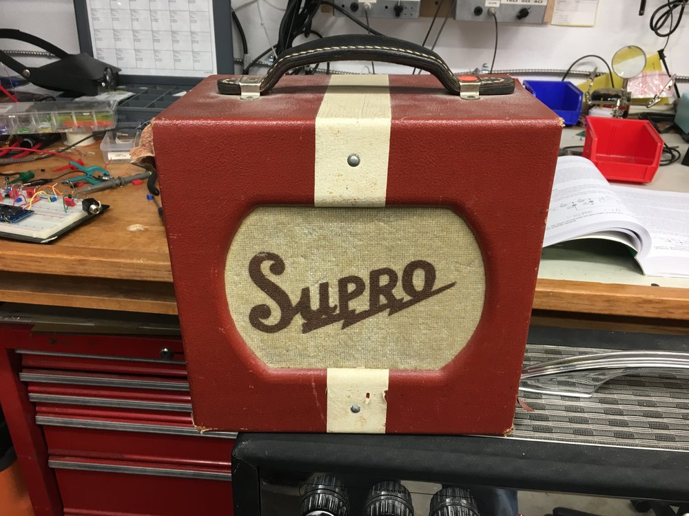 Supro with the 1946 circuit