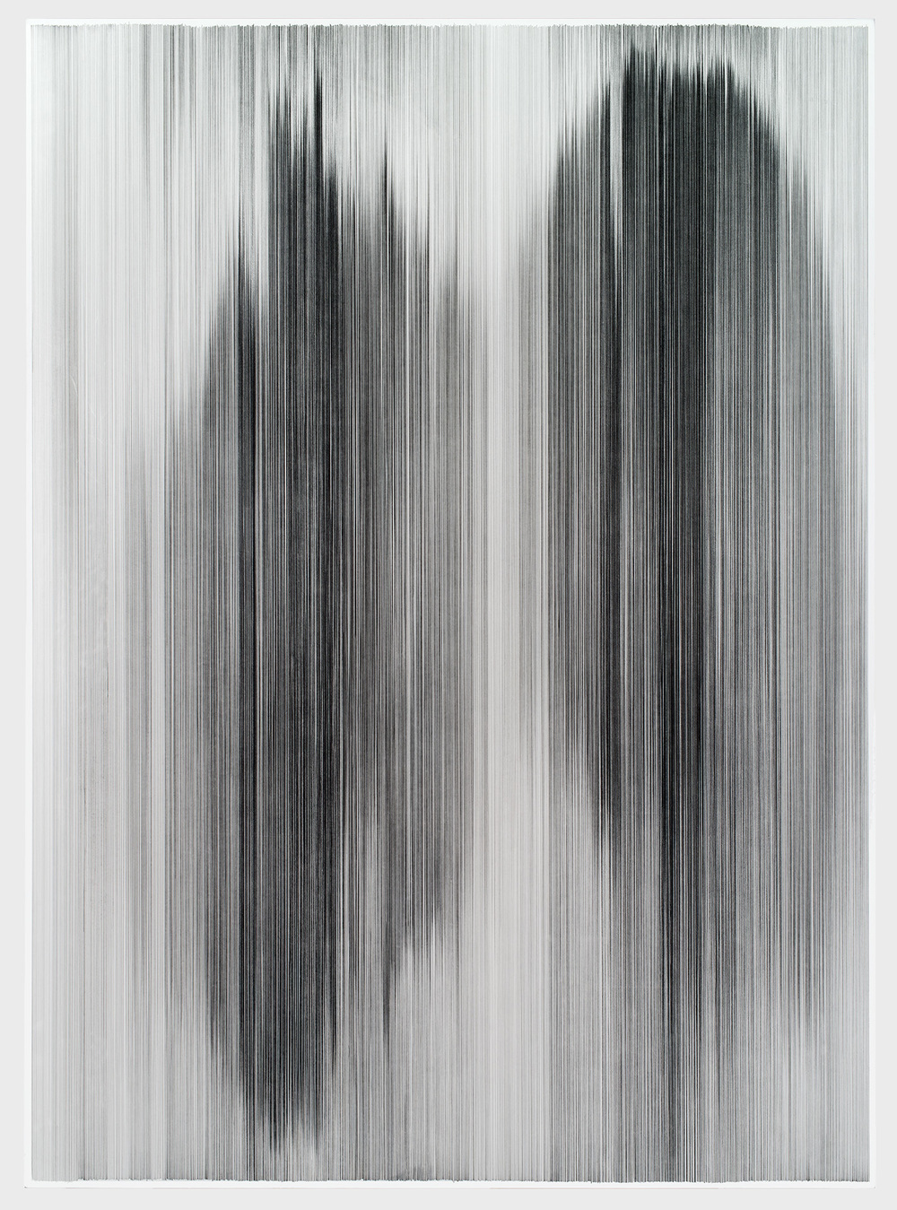 parallel 38   2013 graphite on cotton mat board 60 by 84 inches collection Howard & Melissa Rachofsky, Dallas, TX