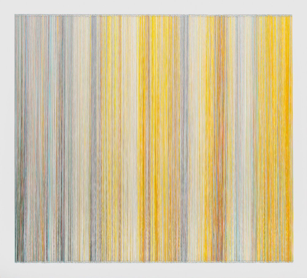 thread drawing 17  2013 rayon thread 31 by 28 inches