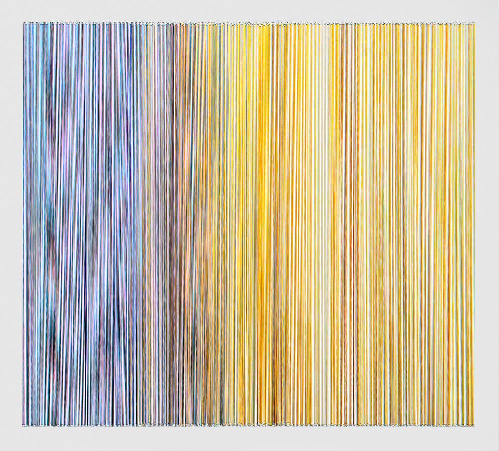 thread drawing 16  2012 rayon thread 31 by 28 inches