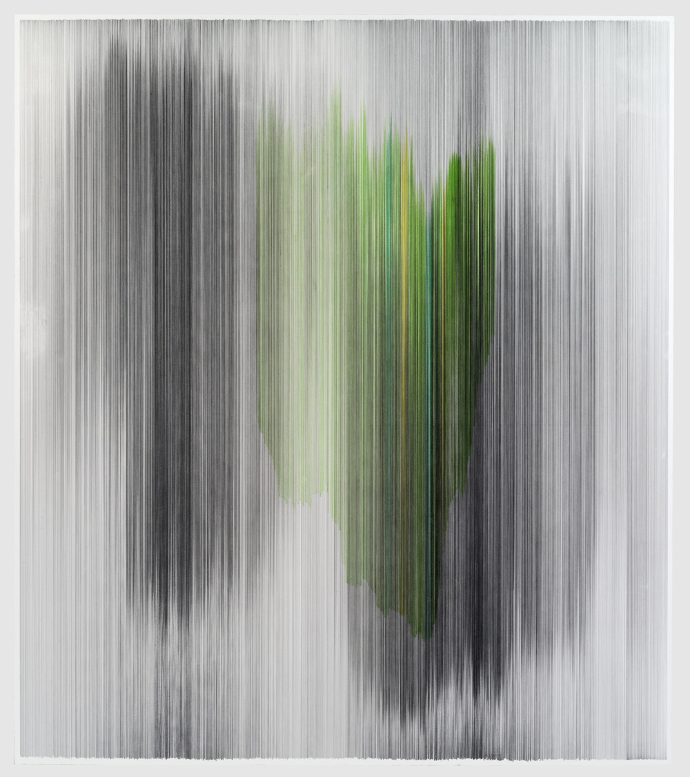 parallel 40  2013 graphite & colored pencil on mat board 51 by 58 inches Private Collection, Chicago, IL