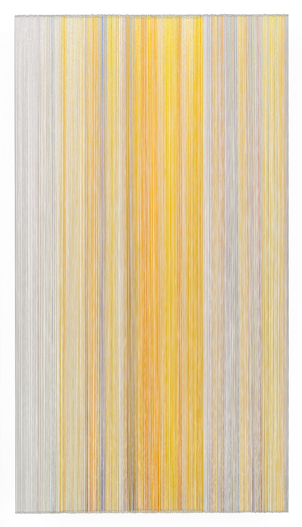 thread drawing 30  2014 rayon thread 42 by 24 inches