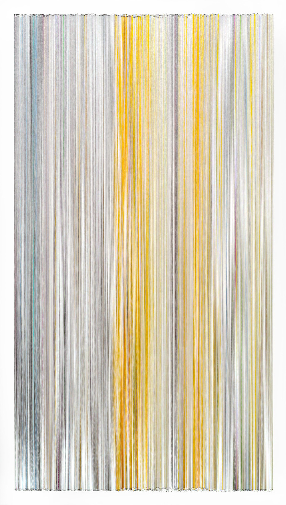 thread drawing 31  2014 rayon thread 42 by 24 inches