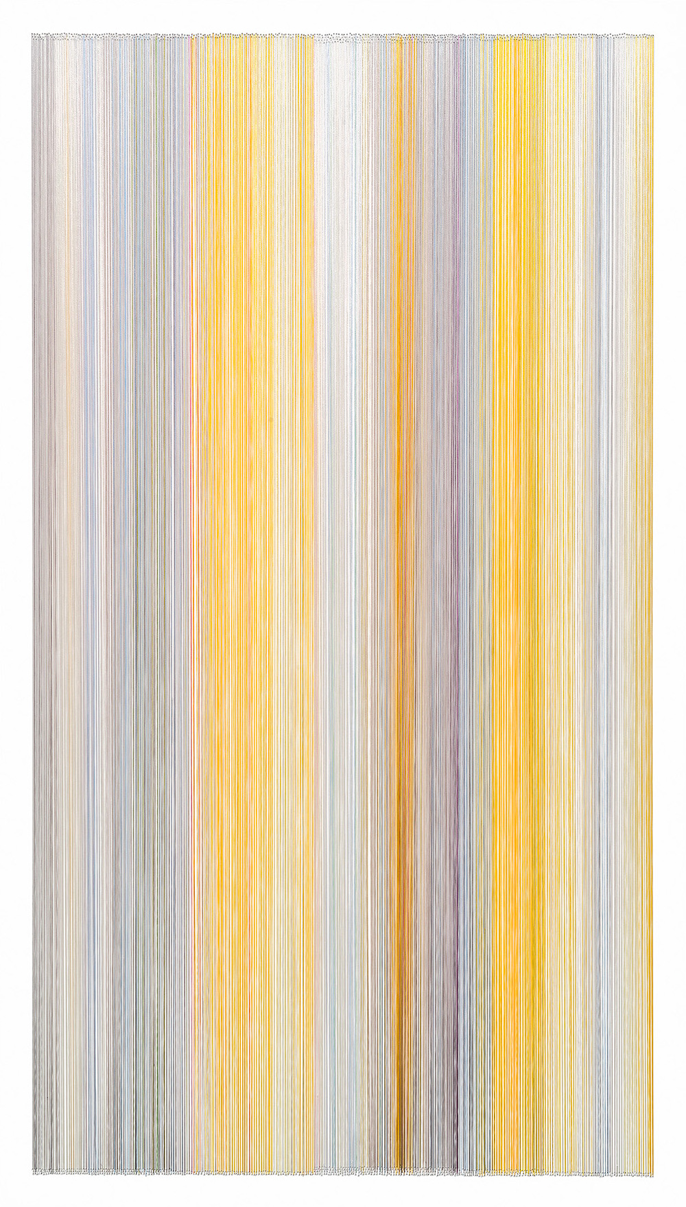 thread drawing 32  2014 rayon thread 42 by 24 inches