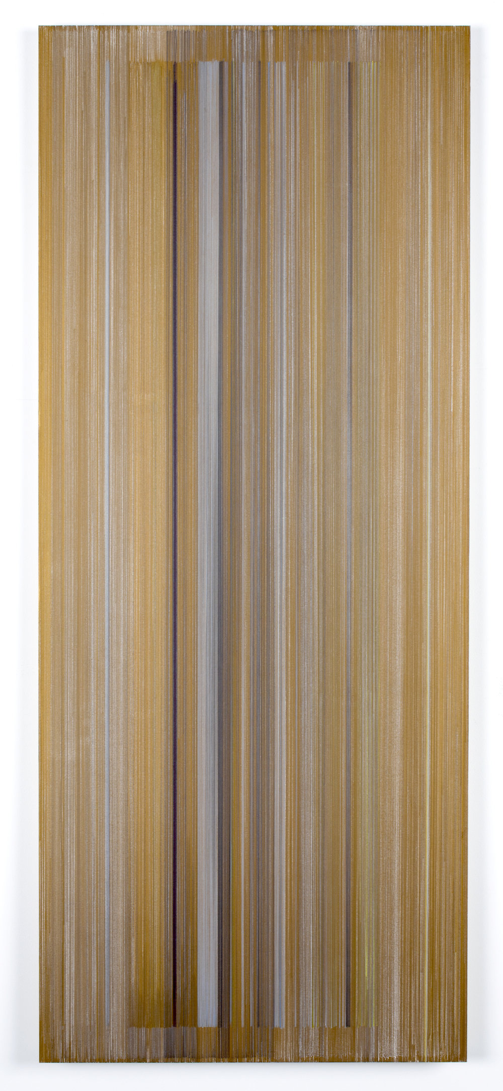 the light has passed   2016   graphite & colored pencil on mat board   24 by 58 inches