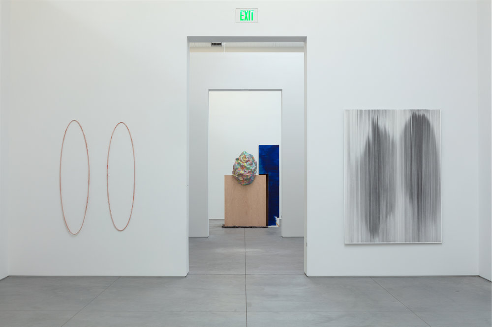installation view of  Topologies  at The Warehouse Dallas curated by Mika Yoshitake, Curator (2011-2018), Hirshhorn Museum and Sculpture Garden in Washington, D.C