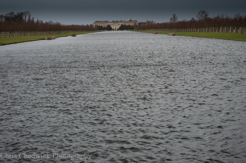 In this first image the water covers over three-quarters of the frame with hardly any sky. It feels a little unstable and the palace itself looks as though it is sitting on a watery platform, ready to roll to one side or the other at any point.