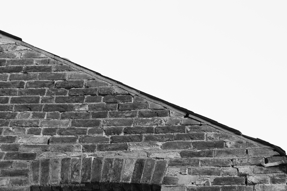 This is what you might call a 'real' diagonal line, as the slope of a roof is so designed to allow the run-off of water. This is the usual human viewpoint for sloping roofs. However, should I so choose, I could rotate the image and make it a horizontal or vertical, but of course that would look rather eccentric and wouldn't really be justifiable.