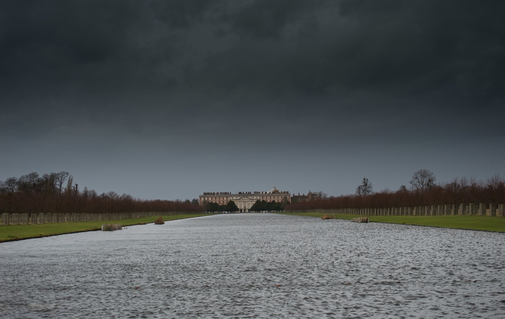 Hampton Court and the Long Water