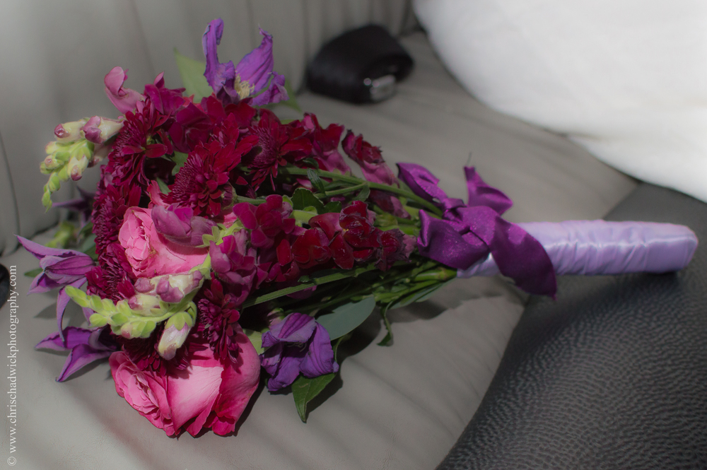 Similar Colours: Red and Violet. There are several hues of red and violet in this bouquet of flowers.
