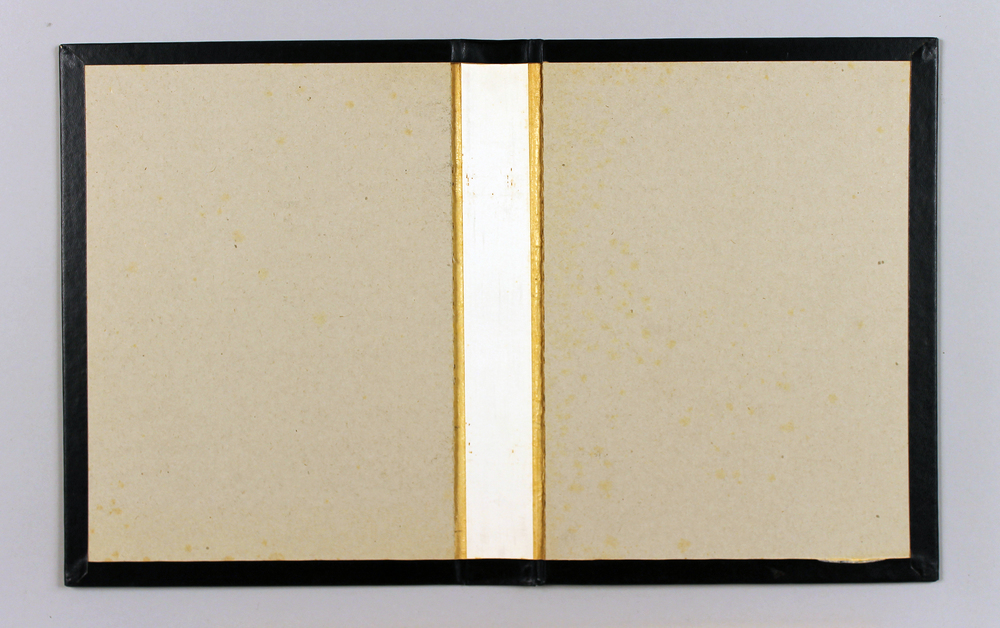 "Volume One (White Line)  Found object, wood, 12"" x 20.25"", 2013"