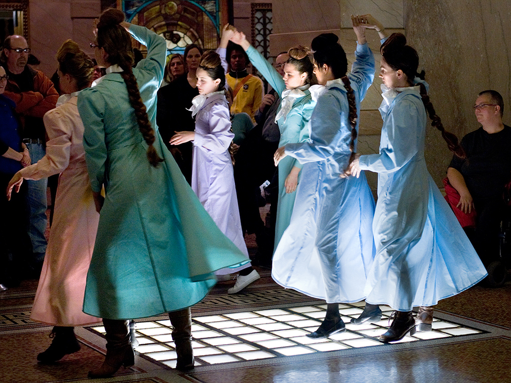 Another Women's Movement  Performance, IN>TIME, Chicago Cultural Center, Chicago, Illinois, 2010
