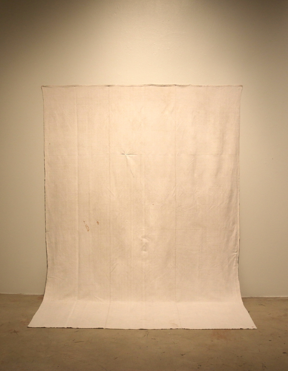 Composition (figure 7),   handwoven antique linen, 2015