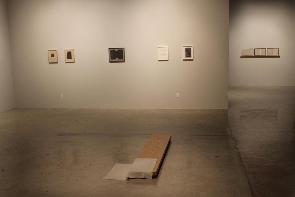 Volume I  installation shots, Joseph Gross Gallery, Tucson, AZ, 2018