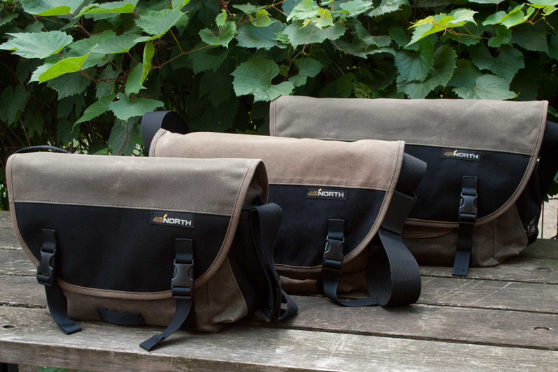 Small, Medium and Large Messenger Bags
