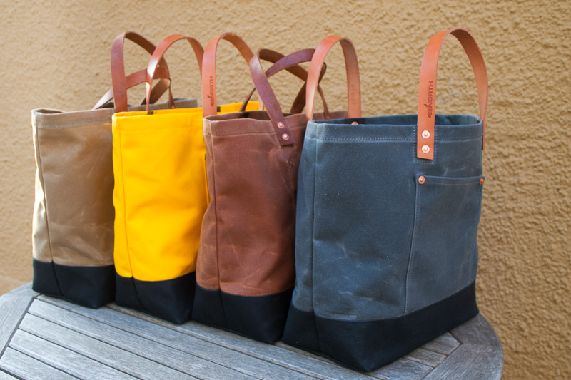 Market Totes with Short Handles