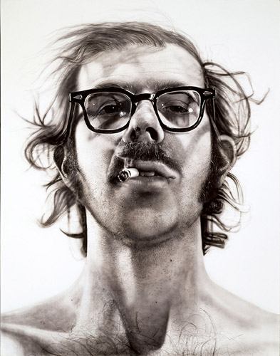 "Chuck Close ""Big Self Portrait"", 1968"