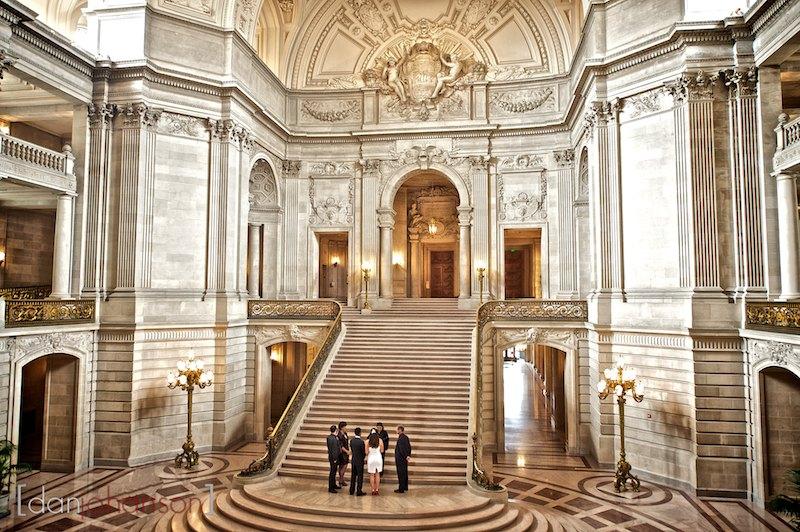 Sf City Hall Wedding Photography: Jimmy And Josie's San Francisco City Hall Wedding