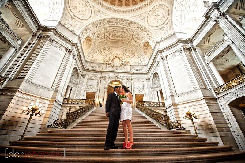 inside city hall civil ceremony portraits photographer
