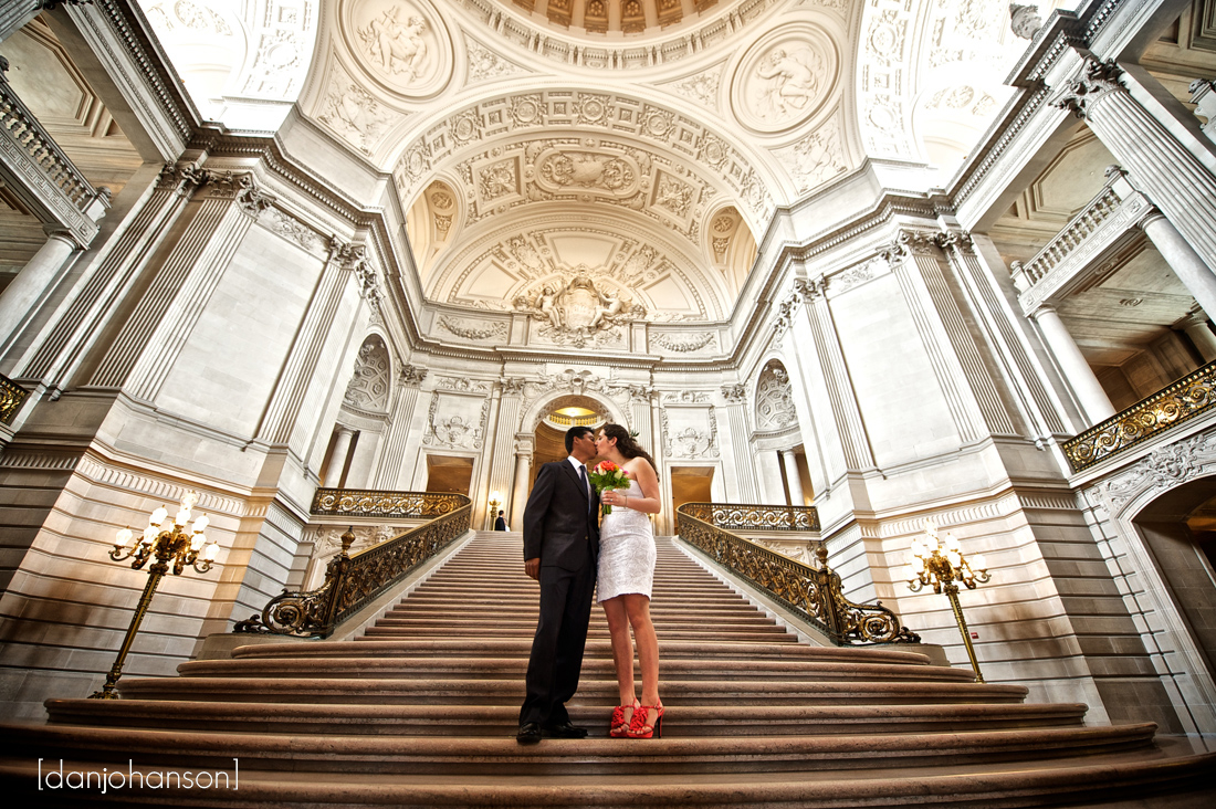 Best of 2012 san francisco city hall weddings dan for Sf courthouse wedding