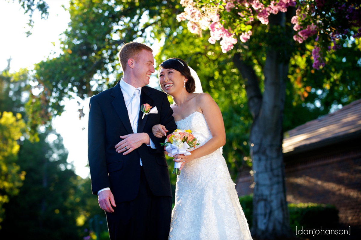 bride and groom portraits at the blackhawk country club in danville