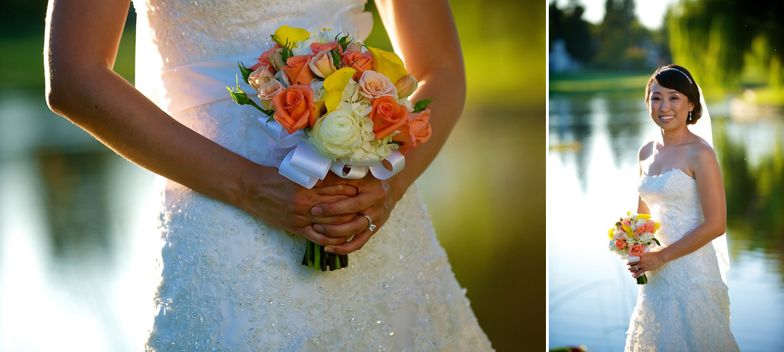 bouquet wedding dress blackhawk country club